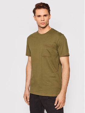 Outhorn Outhorn T-Shirt TSM617 Zielony Regular Fit