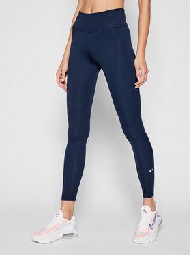 Nike Nike Legginsy One DD0252 Granatowy Slim Fit