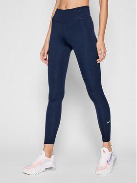 Nike Nike Leginsai One DD0252 Tamsiai mėlyna Slim Fit