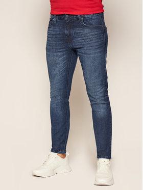Guess Guess Super Skinny Fit Jeans Chris M0YA27 D4321 Dunkelblau Super Skinny Fit