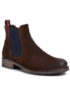 Marc O'Polo Marc O'Polo Kotníková obuv s elastickým prvkem 007 25005002 325 Hnědá