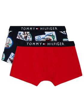 Tommy Hilfiger Tommy Hilfiger Комплект 2 чифта боксерки Trunk Print UB0UB00291 Цветен