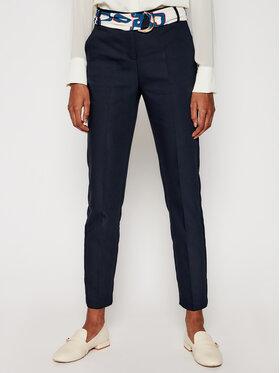 Morgan Morgan Medžiaginės kelnės 211-Piloua.F Tamsiai mėlyna Regular Fit