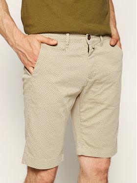 Pierre Cardin Pierre Cardin Szorty materiałowe 3465/2070 Beżowy Tailored Fit