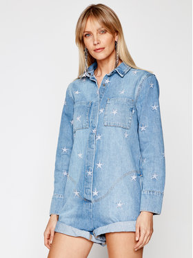One Teaspoon One Teaspoon Overall Pac Star Prophecy 23692 Blau Relaxed Fit