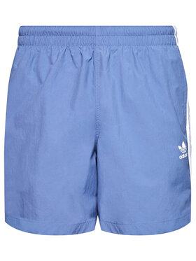 adidas adidas Úszónadrág 3-Stripe GN3527 Kék Regular Fit
