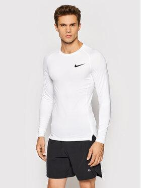 Nike Nike Тениска от техническо трико Pro BV5588 Бял Slim Fit
