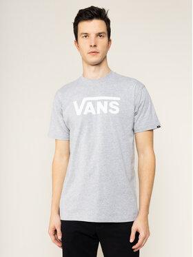 Vans Vans T-Shirt Classic VN000GGG1RQ1 Šedá Classic Fit