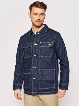 Dickies Dickies Kurtka jeansowa Morristown DK0A4XAKRNB1 Granatowy Regular Fit