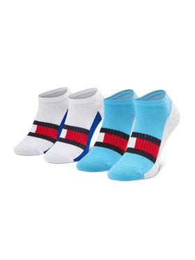 Tommy Hilfiger Tommy Hilfiger Súprava 2 párov detských členkových ponožiek 100002327 Farebná