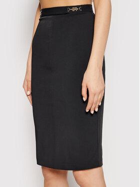 Elisabetta Franchi Elisabetta Franchi Pouzdrová sukně GO-458-11E2-V240 Černá Slim Fit