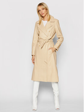 LaMarque LaMarque Trench Erma Bej Relaxed Fit