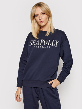 Seafolly Seafolly Majica dugih rukava Leisure 54569 Tamnoplava Regular Fit