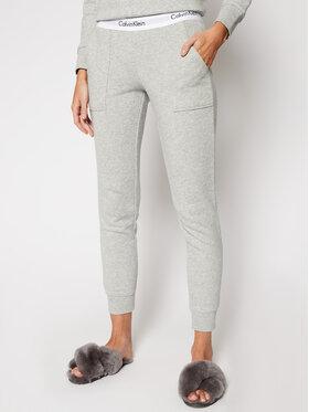 Calvin Klein Underwear Calvin Klein Underwear Teplákové kalhoty 000QS5716E Šedá Straight Leg