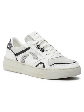 Crime London Crime London Sneakers Low Top Off Court 25101AA3.10 Alb