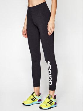 adidas adidas Legíny Essentials Linear DP2386 Čierna Extra Slim Fit