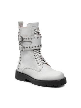 TWINSET TWINSET Ορειβατικά παπούτσια 212TCP200 Λευκό