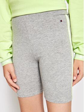 Tommy Hilfiger Tommy Hilfiger Sportske kratke hlače Essential Cycling KG0KG05775 D Siva Slim Fit