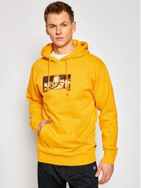 HUF HUF Sweatshirt KILL BIL Revenge PF00405 Jaune Regular Fit