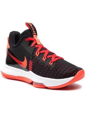 Nike Nike Обувки Lebron Witness V CQ9380 005 Черен