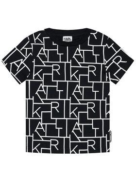 KARL LAGERFELD KARL LAGERFELD T-shirt Z25279 M Crna Regular Fit