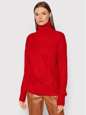 Pepe Jeans Pepe Jeans Bluză cu gât Vivian PL701802 Roșu Regular Fit