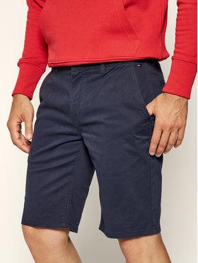 Tommy Jeans Tommy Jeans Kratke hlače Tjm Essential Chino DM0DM05444 Tamnoplava Regular Fit