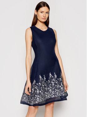 DKNY DKNY Koktejlové šaty DD0DP149 Tmavomodrá Regular Fit
