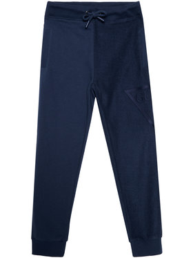 Guess Guess Teplákové kalhoty I1RG03 KA6R0 Tmavomodrá Regular Fit