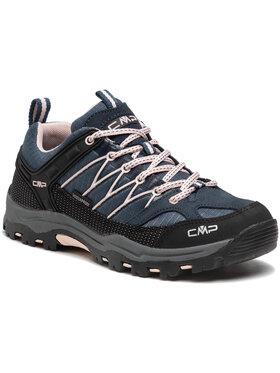 CMP CMP Trekkingi Rigel low Trekking Shoe kids Wp 3Q54554J Granatowy