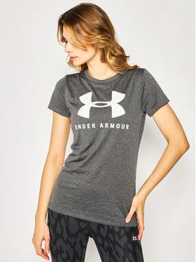 Under Armour Under Armour T-Shirt Logo Graphic Short Sleeve Crew 1351963 Šedá Loose Fit