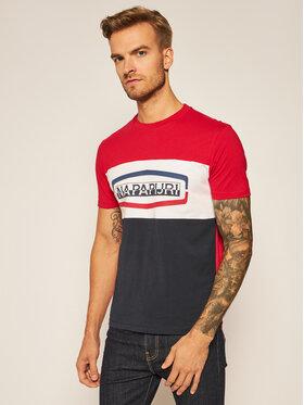 Napapijri Napapijri T-Shirt Sogy Cb SS 1 NP0A4FDH Kolorowy Regular Fit