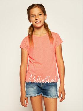 Billieblush Billieblush Marškinėliai U15733 Rožinė Regular Fit