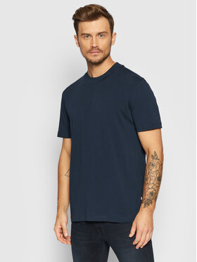 Selected Homme Selected Homme T-Shirt Colman 200 16077385 Tmavomodrá Relaxed Fit