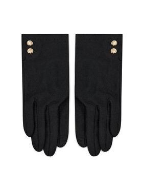 Polo Ralph Lauren Polo Ralph Lauren Γάντια Γυναικεία Buttons 454822991001 Μαύρο