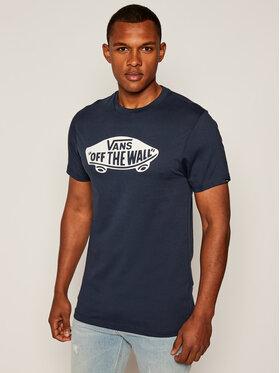 Vans Vans Marškinėliai Mn Vans Otw VN000JAY Tamsiai mėlyna Custom Fit