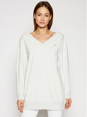 Tommy Jeans Tommy Jeans Sweatshirt DW0DW09913 Grau Relaxed Fit