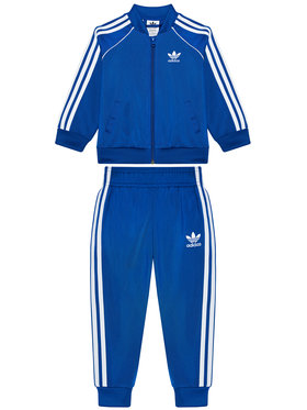 adidas adidas Jogginganzug adicolor Sst GN8438 Blau Regular Fit