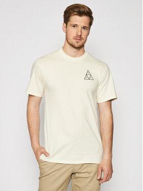 HUF HUF T-Shirt Essentials TS00509 Beige Regular Fit