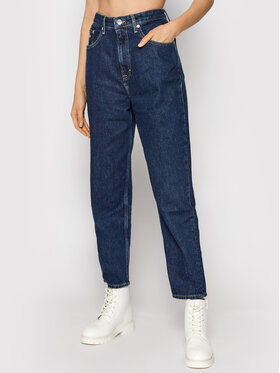 Tommy Jeans Tommy Jeans Jeansy DW0DW10743 Granatowy Mom Fit