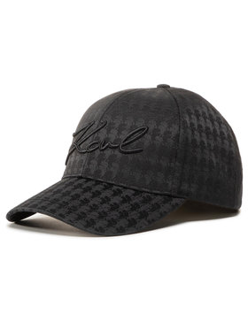 KARL LAGERFELD KARL LAGERFELD Καπέλο Jockey 205W3402 Μαύρο