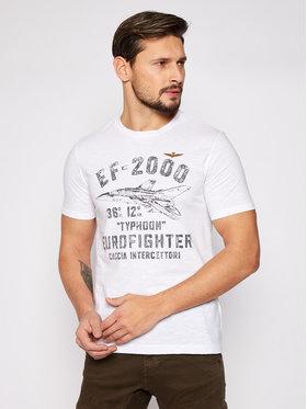 Aeronautica Militare Aeronautica Militare T-shirt 211TS1865J512 Bijela Regular Fit