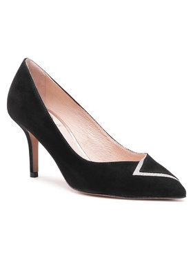 Baldowski Baldowski Pantofi cu toc subțire D03484-3359-002 Negru
