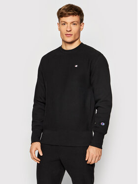Champion Champion Sweatshirt Reverse Weave C Logo 216495 Schwarz Regular Fit