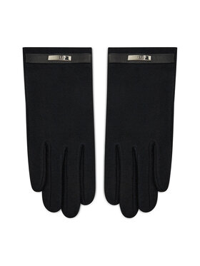 Lauren Ralph Lauren Lauren Ralph Lauren Дамски ръкавици Belted Knit Glove 454855043001 Черен