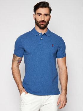 Polo Ralph Lauren Polo Ralph Lauren Polokošeľa 710536856140 Modrá Slim Fit