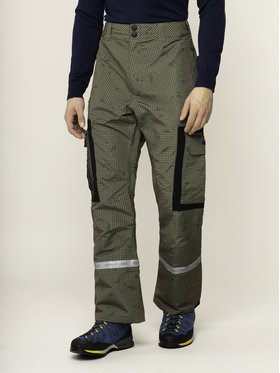 DC DC Snowboardové nohavice EDYTP03043 Zelená Regular Fit