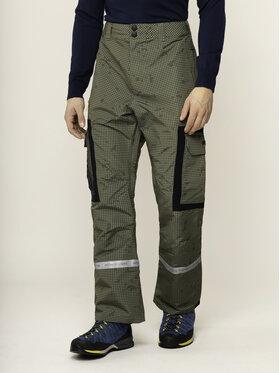 DC DC Spodnie snowboardowe EDYTP03043 Zielony Regular Fit