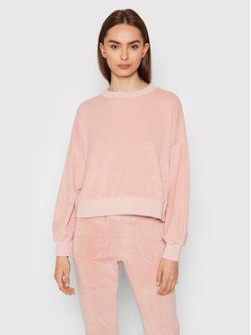 Deha Deha Bluza B54101 Różowy Regular Fit