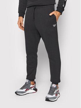Reebok Reebok Teplákové nohavice Identity Fleece GT5802 Čierna Regular Fit